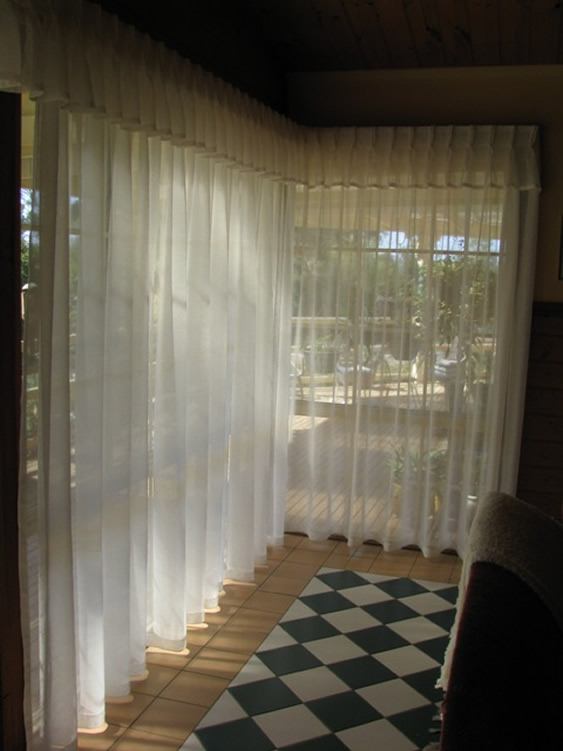 Pinch Pleat Sheers and Valances